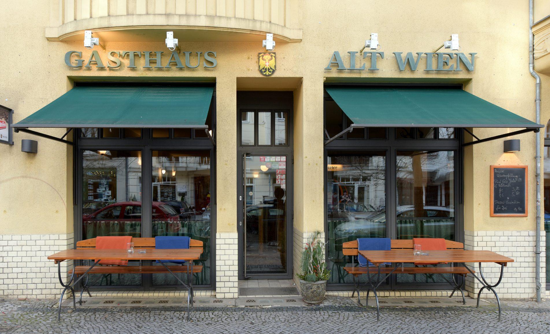 gasthaus alt wien - Österreichisches restaurant in berlin